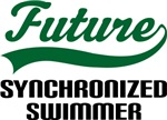 Future Synchronized Swimmer Kids T Shirts