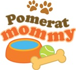Pomerat Mommy Pet Mom Gifts and T-shirts