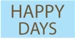 HAPPY DAYS TV SHOW FAN T-SHIRTS