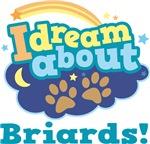 Cute Briard Quote T-shirts