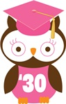 Owl 2030 Class Grad Gifts and Shirts