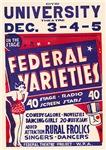 Federal Varieties WPA Poster