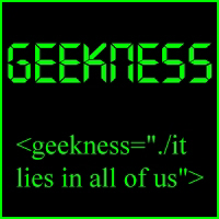 Geekness