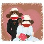 Scok Monkey Wedding(Bowty & Violet)