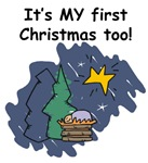 MY 1st Christmas too (Jesus)