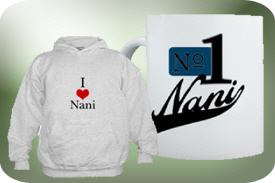 Nani and Nanni Gifts and T-Shirts