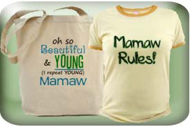 Mamaw and Mammaw Gifts and T-Shirts