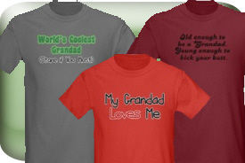 Grandad and Granddad Gifts and T-Shirts