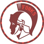 Twilight Forks Spartans Mascot