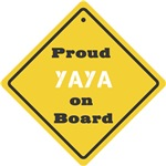 Proud YaYa on Board