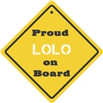 Proud Lolo on Board