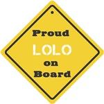 Proud Lolo on Board