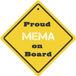 Proud Mema on Board