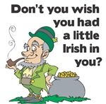 Don't you wish you had a little Irish (man) in you