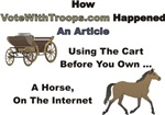 Article: Using the Cart Before You Own a Horse, On