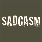 Sadgasm - White Outlined