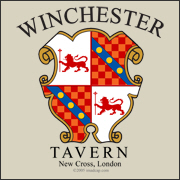 When the Zombies attack, the best place to be is the Winchester Tavern.  Made famous in the outbreak of Shaun of the Dead, be ready for the next outbreak with this great Winchester Tavern t shirt.