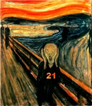 Edvard Munch, The Scream 21st Birthday Gifts!