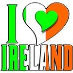 I Love Ireland T-Shirts 4 Irish, Airlann, Eire!