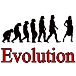 Feminist Human Evolution Posters, Apparel & Gifts!