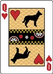 Jindo Queen of Hearts