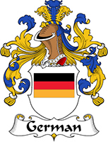 German Last Name Coats of Arms