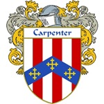 Carpenter Coat of Arms (Mantled)