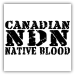 Canadian Indian Native Blood