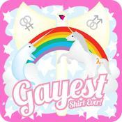 AGR Gayest Christmas Ever Lgbtq Lgbt Gay Holiday Tee Shirt ... |Gayest Shirt Ever