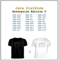 C) Black or White (Enterprise Edition) T-Shirt