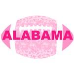 Alabama Football Pink Lace