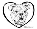 Bully Heart Black