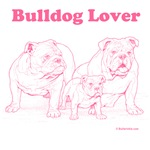 Bulldog Lover Pink