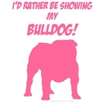 Showing Bulldog Pink