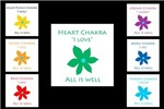 All Is Well Rainbow Chakra Flowers