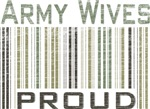 Military Army Wives Proud T-shirts & Gifts