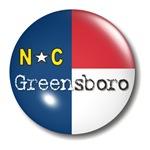 Greensboro North Carolina Flag T-shirts & Gifts