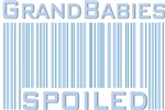 Grandbabies Spoiled Blue Boys T-shirts & Gifts