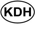 Kill Devil Hills Oval KDH NC T-shirts & Gifts