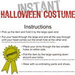 Instant Halloween Costume T-shirts & Gifts