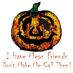 Halloween Pumpkin Mean Friends T-shirts & Gifts