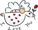 I Love You Angel T-shirts & Gifts