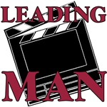 Leading Man Actor Drama Thespian T-shirts & Gifts