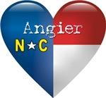Love Angier North Carolina T-shirts & Gifts