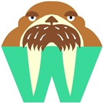 W is for Walrus T-shirts & Gifts