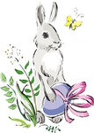 Pretty Easter Bunny T-shirts & Gifts