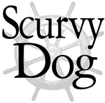 Scurvy Dog Pirate Caribbean T-shirts and Gifts