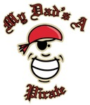 My Dad's A Pirate Caribbean T-shirts & Gifts