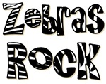 Zebras Rock Zebra Zoo Animal T-shirts Gifts