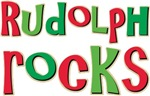 Rudolph Rocks Christmas Reindeer T-shirts Gifts